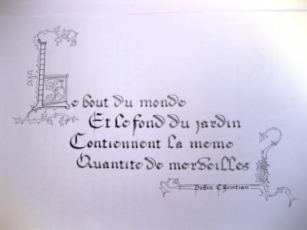 Citation De Christian Bobin Crayons Et Pinceaux De Chemins